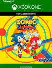 Цифровая версия игры Sega Sonic mania (Xbox One)