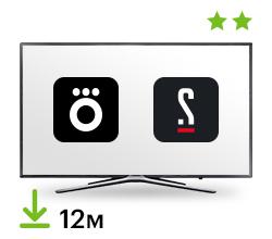 Цифровой пакет Smart TV + Okko + Старт 12 мес.