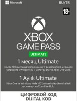 Подписка Xbox Game Pass Ultimate 1 мес