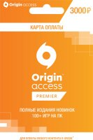 Карта оплаты Origin Access Premier 3000 р. (PC)