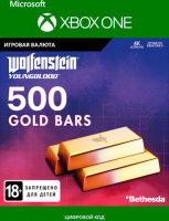 Игровая валюта BETHESDA WOLFENSTEIN: YOUNGBLOOD: 500 GOLD BARS (XBOX ONE)