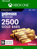 Игровая валюта BETHESDA WOLFENSTEIN: YOUNGBLOOD: 2500 GOLD BARS (XBOX ONE)