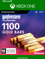 Игровая валюта BETHESDA WOLFENSTEIN: YOUNGBLOOD: 1100 GOLD BARS (XBOX ONE)