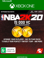 2K GAMES NBA 2K20: 15,000 VC (XBOX ONE)  фото