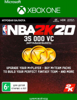 2K GAMES NBA 2K20: 35,000 VC (XBOX ONE)  фото