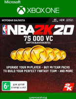 2K GAMES NBA 2K20: 75,000 VC (XBOX ONE)  фото