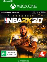 Цифровая версия игры 2K GAMES NBA 2K20: Digital Deluxe (Xbox One)