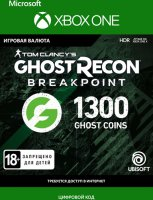 Игровая валюта Ghost Recon Breakpoint GhostCoins:1200 +100bonus (Xbox One)
