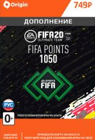 Игровая валюта FIFA 20 Ultimate Team FIFA Points 1050 (PC)