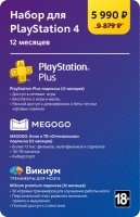 Набор для PlayStation 4 (12 месяцев)