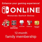Подписка Nintendo Switch Online 365 Days Family Membership