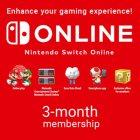 Подписка Nintendo Switch Online 90 Days Membership