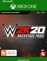 2K GAMES WWE 2K20: BACKSTAGE PASS (XBOX ONE)  фото