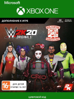 2K GAMES WWE 2K20 ORIGINALS: SOUTHPAW REGIONAL WRESTLING (XBOX ONE)  фото