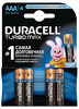 ��������� DURACELL Turbo Max AAA MX2400, 4 ��.