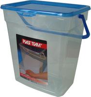 контейнер для стирального порошка с иллюминатором violet ротанг цвет коричневый 10 л 811212 Емкость для Порошка Plast Team PL2058