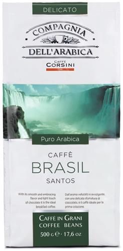 DELL ARABICA BRASIL SANTOS 500G фото