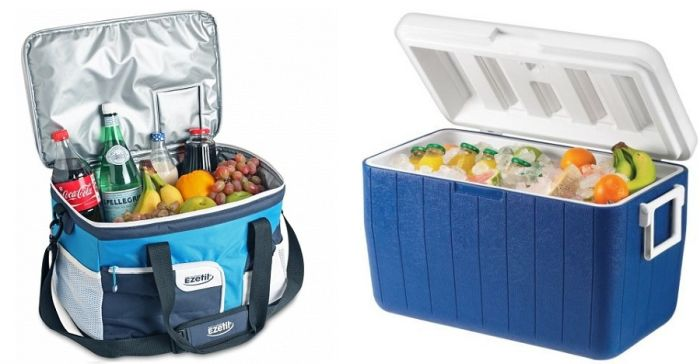Portable fridges blue