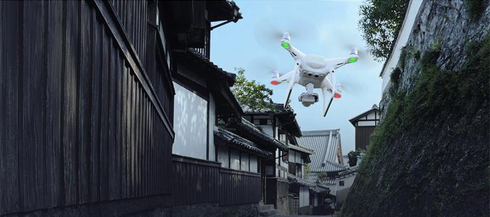 Квадрокоптер с монитором DJI Phantom 4 Pro+