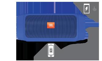 Портативная акустика JBL Charge 2 Plus Blue