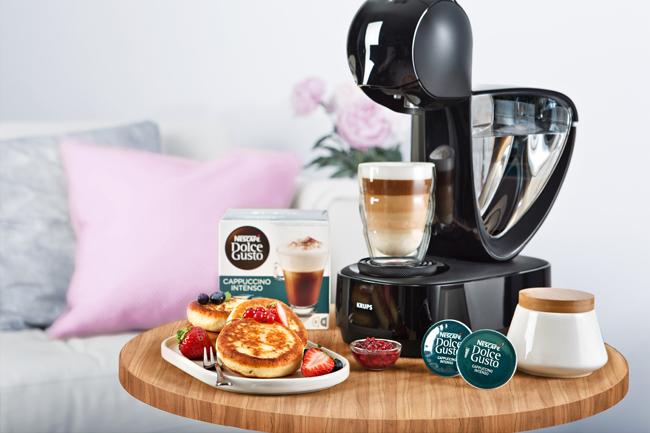 Капсульная кофемашина KRUPS KP170810 Dolce Gusto Infinissima