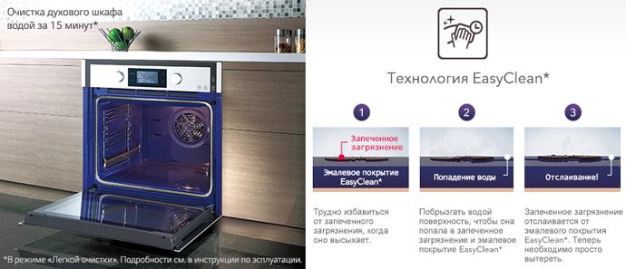 Независимый электрический духовой шкаф LG LB645E129T1