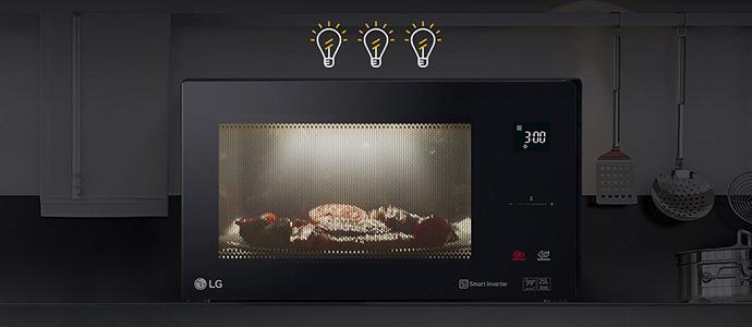 Микроволновая печь LG MH6565DIS