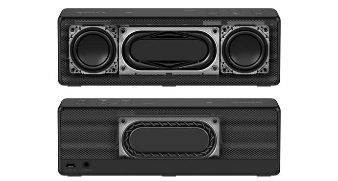 Портативная акустика SONY SRSX33 Black