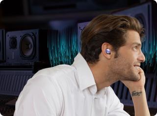Беспроводные наушники с микрофоном Samsung Galaxy Buds Pro