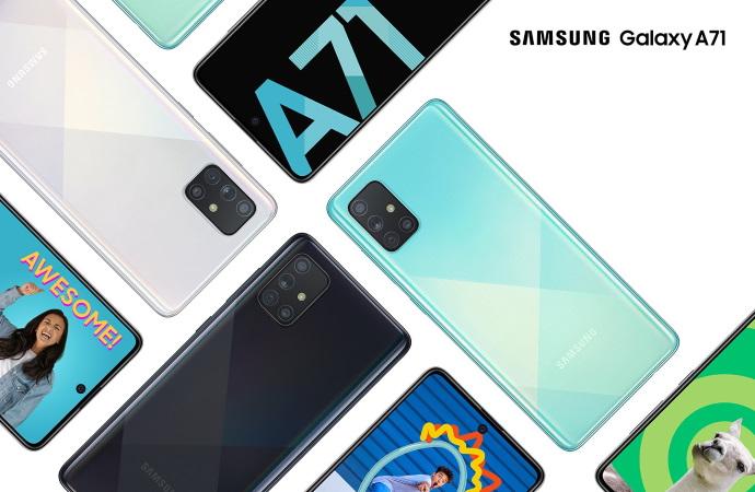 Смартфон Samsung Galaxy A71